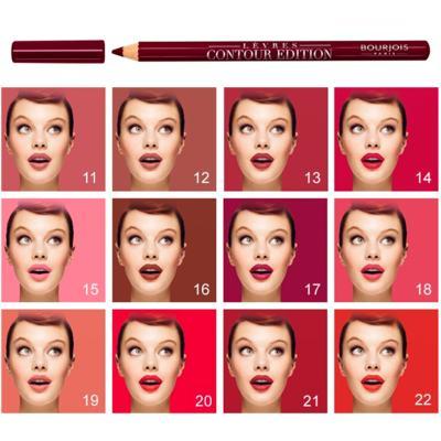 Imagem 4 do produto Lévres Contour Edition Bourjois - Contorno Labial - 03 - Alerte Rose