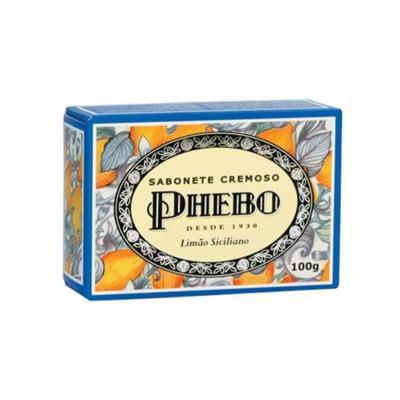 Sabonete Cremoso Phebo - Limão Siciliano   100g