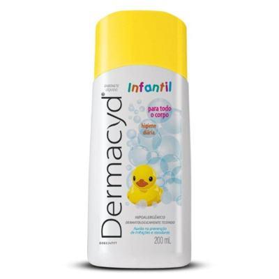 Imagem 2 do produto Sabonete Líquido Íntimo Dermacyd Infantil 200ml - 200ml