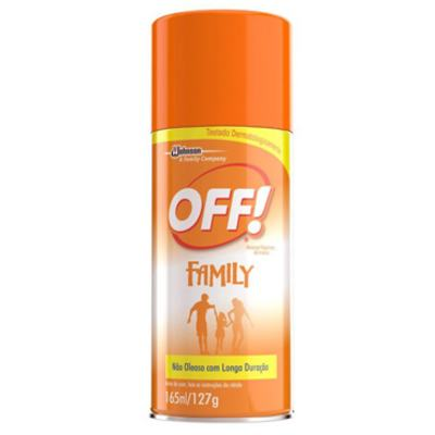 Imagem 1 do produto Repelente Familiy Aerosol Off 165ml