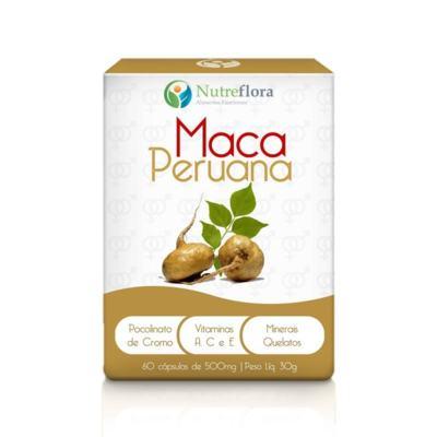 Imagem 1 do produto Maca Peruana - 500 mg - 60 cápsulas - Nutreflora -