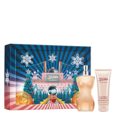 Imagem 1 do produto Classique Jean Paul Gaultier - Feminino - Eau de Toilette - Perfume + Loção Corporal - Kit