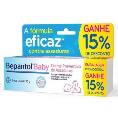 Bepantol Baby Creme Preventivo de Assaduras 30g Ganhe 15% de Desconto