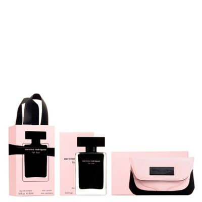 Narciso Rodriguez For Her Narciso Rodriguez - Feminino - Eau de Toilette - Perfume + Nécessaire - Kit