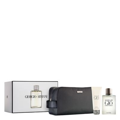 Imagem 1 do produto Acqua Di Giò Homme Eau de Toilette Giorgio Armani Kit - Perfume + Gel de Banho + Miniatura - Kit - inativo