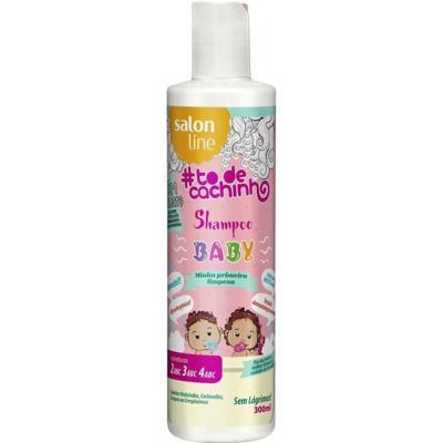 Imagem 1 do produto Shampoo Baby Salon Line To de Cachinho Minha Primeira Limpeza 300ml