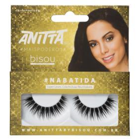 Anitta #NABATIDA Bisou - Cílios Postiços - Pack Unitário