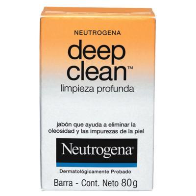Deep Clean Limpeza Profunda Neutrogena - Sabonete Facial - 80g