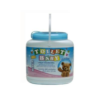 Lenço Umedecido Toilet Baby Azul 400 unidades