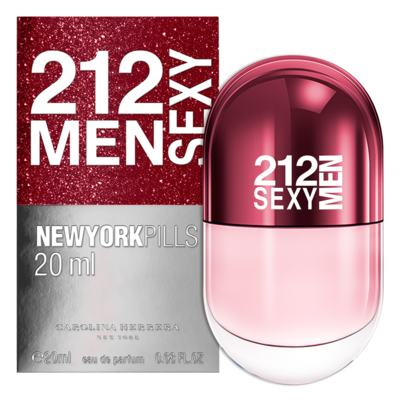 Imagem 2 do produto 212 Sexy Men Pills Carolina Herrera - Perfume Masculino - Eau de Toilette - 20ml