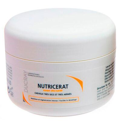 Imagem 2 do produto Nutricerat Máscara Ultranutritiva Ducray - Máscara de Tratamento para Cabelos Secos e Danificados - 150ml