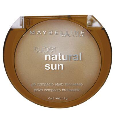Imagem 1 do produto Super Natural Sun Maybelline - Pó Compacto Bronzeador - 22 - True Sun
