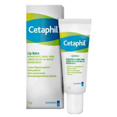 Imagem 1 do produto Cetaphil Lip Balm Para Lábios Secos ou Muito Ressecados - Hidratante Labial - 15g