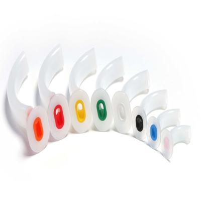 Imagem 1 do produto CANULA OROFARINGEA DE GUEDEL MD - Nº 00 - 40MM - Rosa