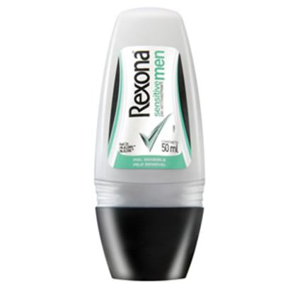 Desodorante Rexona Roll On Masculino Sensitive 50ml