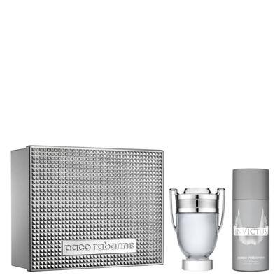 Invictus Paco Rabanne - Masculino - Eau de Toilette - Perfume + Desodorante - Kit