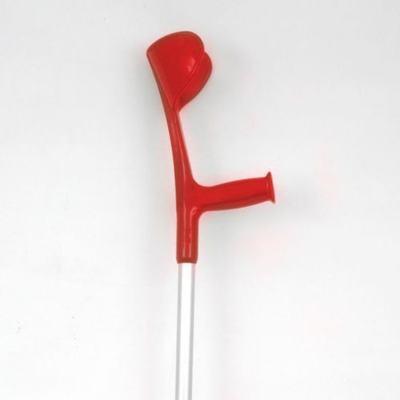 Imagem 1 do produto Muleta Canadense Alo - Vermelha