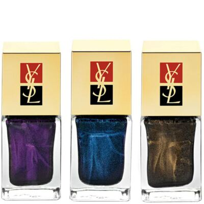 New Blacks La Laque Yves Saint Laurent - Esmalte - 127 - Black Lapis