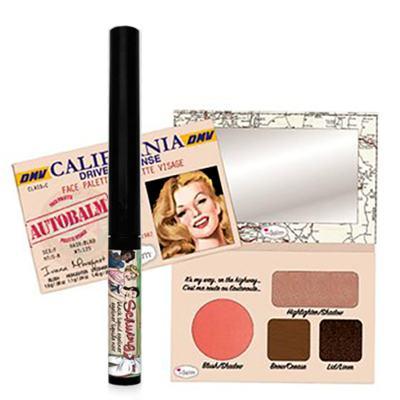 Imagem 1 do produto Autobalm California + Schwing The Balm - Kit Estojo de Maquiagem + Delineador Preto - Kit