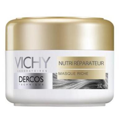 Imagem 2 do produto Vichy Dercos Nutri Reparador Mascara - Vichy Dercos Nutri Reparador Mascara 200ml