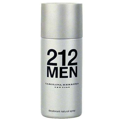 212 Men Déodorant Carolina Herrera - Desodorante Masculino - 150g