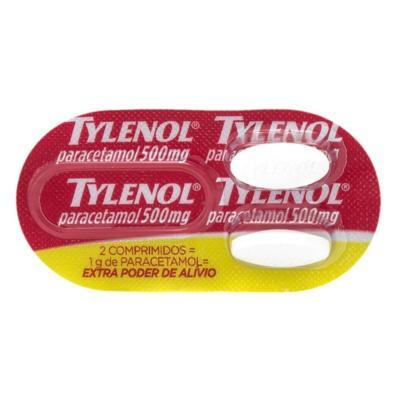 Imagem 1 do produto Tylenol 500mg 2 comprimidos