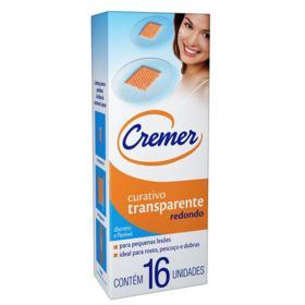 Curativo Transparente Cremer - Redondo | 16 unidades