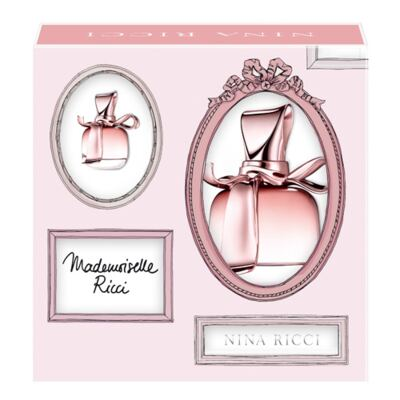 Imagem 1 do produto Mademoiselle Ricci Nina Ricci - Feminino - Eau de Toilette - Perfume + Miniatura - Kit