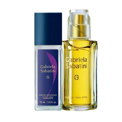 Imagem 1 do produto Gabriela Sabatini Gabriela Sabatini - Feminino - Eau de Toilette - Perfume + Desodorante - Kit