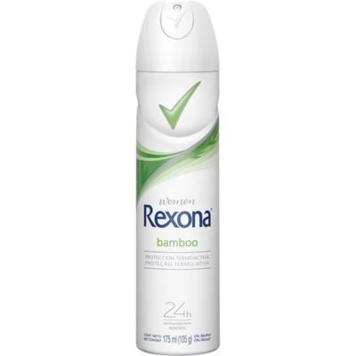 Desodorante Antitranspirante Rexona Women - Bamboo Aerosol   175ml