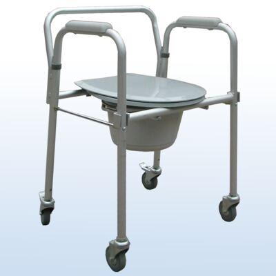 Imagem 1 do produto Cadeira de Banho em Aluminio Dobrável A-CMF302W Praxis