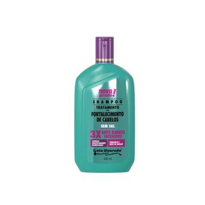 Shampoo Uso Diário Gota Dourada Anti Danos 430ml