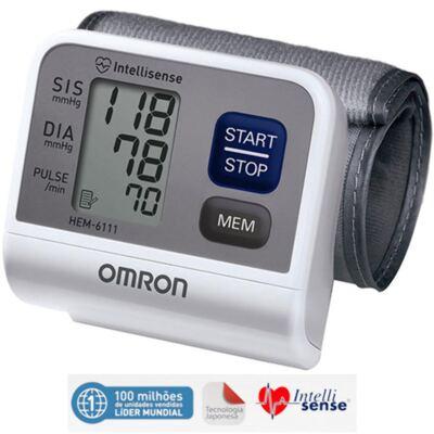 Teste-Aparelho de Pressão Arterial de pulso Automático Hem-6200 Omron - Aparelho de Pressão Arterial de pulso Automátcio Hem-6200 Omron