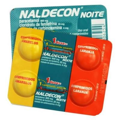 Imagem 1 do produto Naldecon Noite 4 comprimidos -