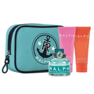 Ralph Ralph Lauren - Feminino - Eau de Toilette - Perfume + Gel de Banho + Nécessaire + Loção Corporal - Kit