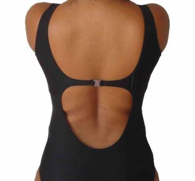 Imagem 2 do produto Maio de Piscina para Protese Mamária Curvatex - PRETO 46