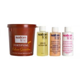 Salon Line Kit Fortifyng Regular Medios