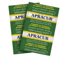 Apracur - 1mg + 100mg + 50mg | 6 comprimidos