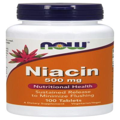 Niacin 500 Mg 250 Tabletes - Now - 250 Tbs
