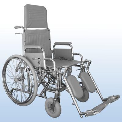 Imagem 1 do produto Cadeira de Rodas com Encosto Reclinável Comfort Praxis