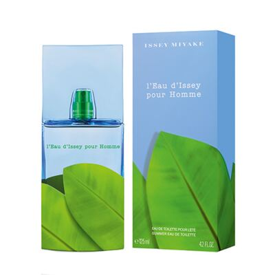 L'eau D'issey Summer pour Homme Issey Miyake- Perfume Masculino - Perfume Masculino - Eau de Toilette - 125ml