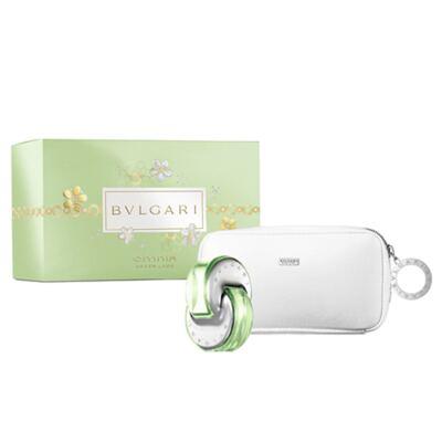 Omnia Green Jade Bvlgari - Feminino - Eau de Toilette - Perfume + Nécessaire - Kit