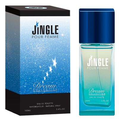 Imagem 2 do produto Jingle Pour Femme Dream Collection - Perfume Feminino - Eau de Toilette - 100ml