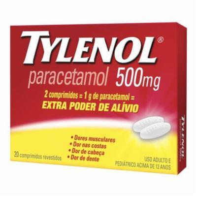 Tylenol Extra Poder - 500mg   15 comprimidos