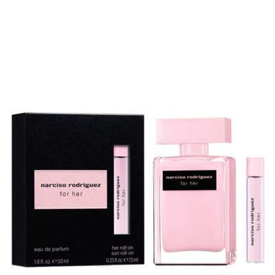 Imagem 1 do produto Narciso Rodriguez For Her Narciso Rodriguez - Feminino - Eau de Parfum - Perfume + Roll-On - Kit