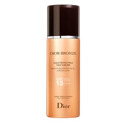 Imagem 1 do produto Bronzeador Dior Bronze Beautifying Protective Oil Sublime Glow SPF 15 - 125ml