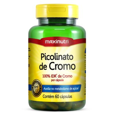 Picolinato de Cromo 60cps - Maxinutri - 60Cps
