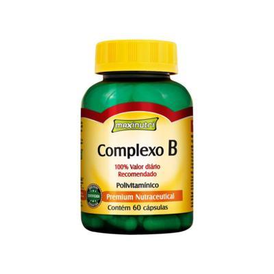 Imagem 1 do produto Complexo B 100% IDR 60Cps - Maxinutri - 60Cps