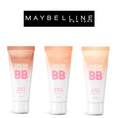 Imagem 7 do produto Dream Fresh BB Cream 30ml Maybelline - Base Facial - Médio