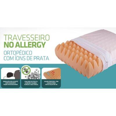 Imagem 2 do produto TRAVESSEIRO NO ALLERGY ORTOPEDICO WC2046 FIBRASCA